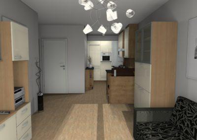 Wohnraumplanung passend zur Küche