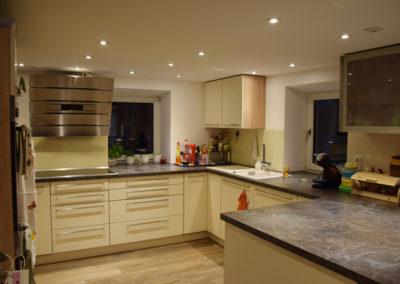 Familienküche mit extra viel Arbeitsfläche